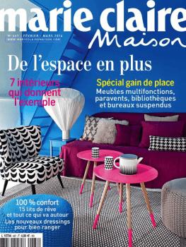 Marie-Claire Maison – Janvier 2014