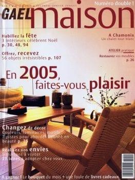 Gaël Maison – Déc. 2004 / Janvier 2005