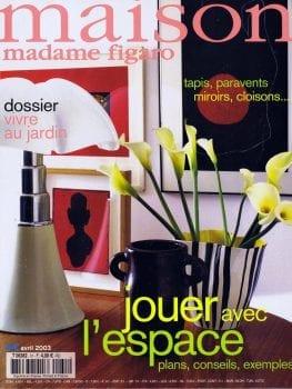 Madame Figaro Maison – Avril 2003