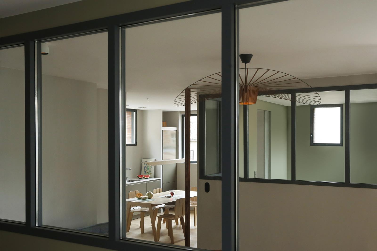 Appartement de Toulouse - Le couloir