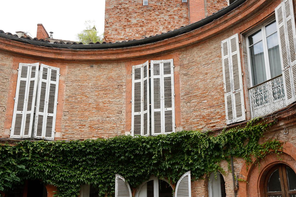 Appartement de Toulouse - Vue extérieure