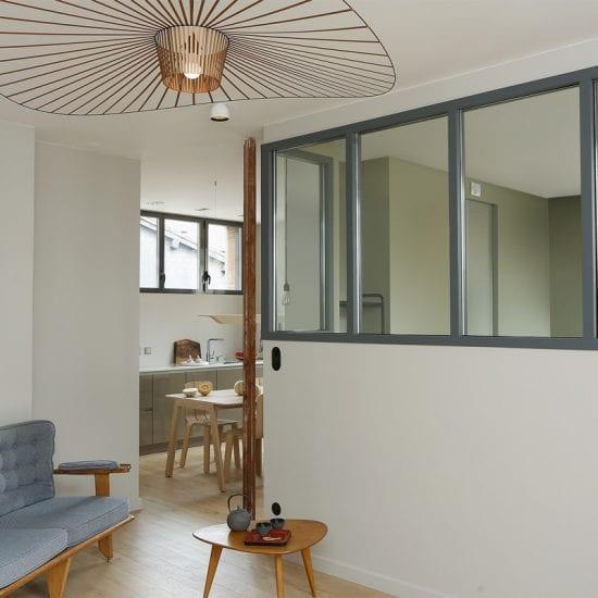 Appartement de Toulouse - Le coin séjour