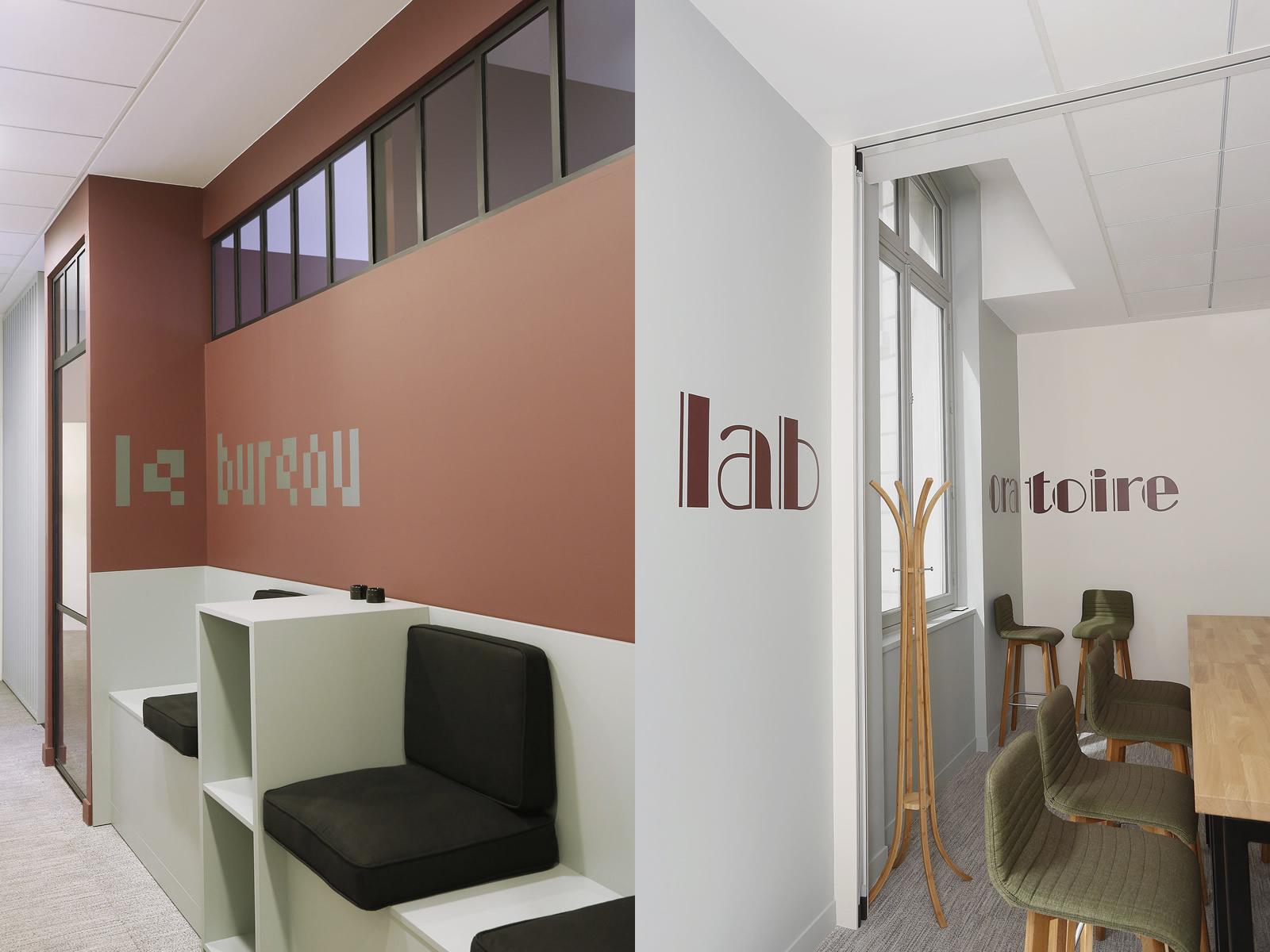 Nexity Blue Office, espaces bureau et laboratoire